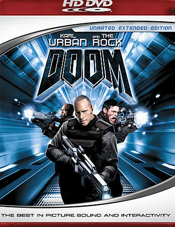 Doom (HD DVD, 2006, Unrated Edition)