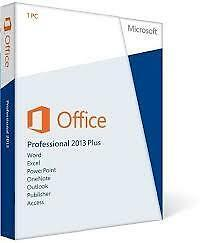 Microsoft Office Professional Plus 2013 (License Only) (1 PC/s) for Windows