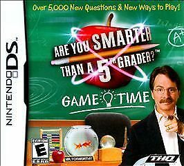 Are You Smarter Than a 5th Grader Game Time (Nintendo DS, 2009)