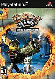 ps2 Ratchet & Clank Going Commando Sony PlayStation 2 Black Label Complete Game