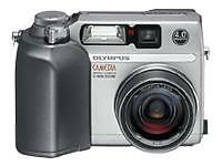 Olympus CAMEDIA C-4000 Zoom 4.0 MP Digital Camera - Silver