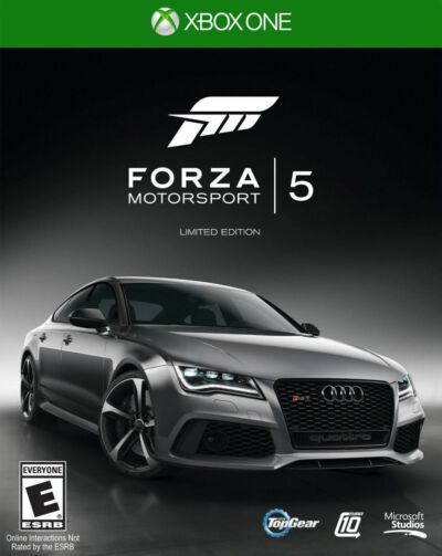 Forza Motorsport 5: Limited Edition (Microsoft Xbox One, 2013)