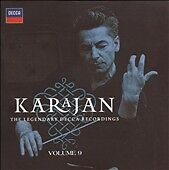 Karajan: The Legendary Decca Recordings, Vol. 9 (CD, Musical Heritage Society)
