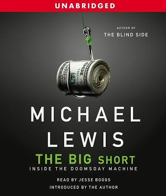 THE BIG SHORT by Michael Lewis NEW CD Audiobook