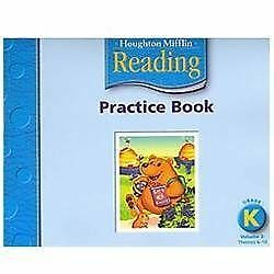 Houghton Mifflin Reading: Practice Book, Volume 2 Grade K, HOUGHTON MIFFLIN, Goo