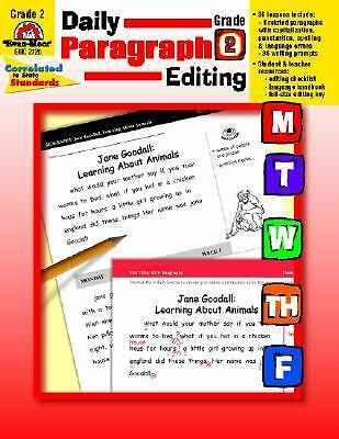 Daily Paragraph Editing, Grade 2, Kunkel, Kristen, Good Book