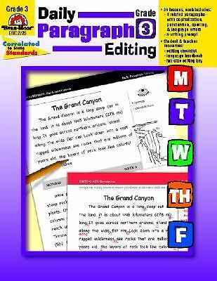 Daily Paragraph Editing, Grade 3, Linde, Barbara, Good Book