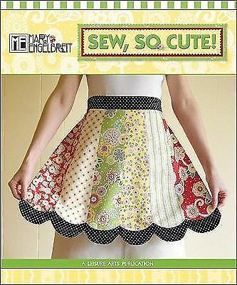 """Mary Engelbreit """"SEW, SO CUTE!"""" Craft Book Spiral Hardcover NEW Condition"""