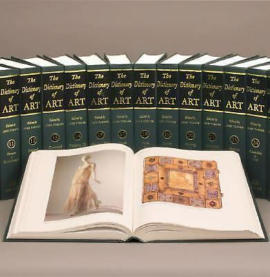 The Grove Dictionary of Art: 34 Volumes, , Good Book