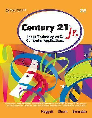 Century 21(TM) Jr., Input Technologies and Computer Applications (Middle School