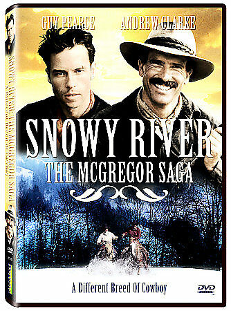 Snowy River - The McGregor Saga: A Different Breed Of Cowboy (DVD, 2007)