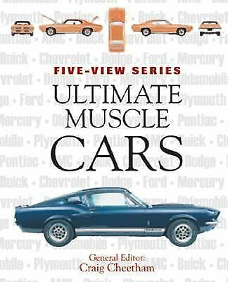 Ultimate Muscle Cars (Five-View), Cheetham, Craig, Good Book