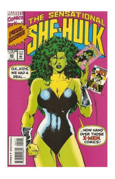 The Sensational She-Hulk #60 (Feb 1994, Marvel) High Grade