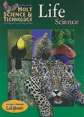 Holt Science and Technology: Life Science, , Good Book