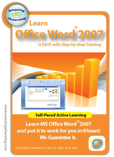 Learn Microsoft  Word 2007 in a few hours - Guaranteed