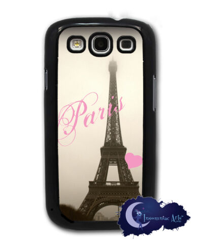 Love Eiffel Tower Samsung Galaxy S3, SIII, Case Cell Cover - Paris, France