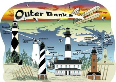 Cat's Meow Village S. Carolina Outer Banks Map #06-504 NEW *Ship Discounts*