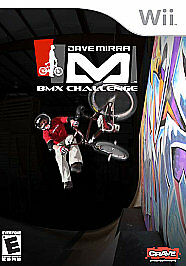 Dave Mirra BMX Challenge, Wii  Case/ Game & Book Included