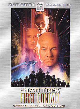 STAR TREK FIRST CONTACT COLLECTOR'S EDITION NEW DVD OPERATION GRATITUDE DIRECT