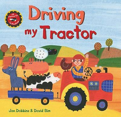 Driving My Tractor HC w CD (A Barefoot Singalong) by Jan Dobbins