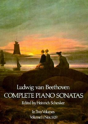 Ludwig Van Beethoven Complete Piano Sonatas Volume 1 (Nos. 1-15) by Beethoven,
