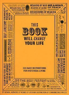 This Book Will Change Your Life by Carey, Ben