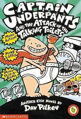 Captain Underpants and the Attack of the Talking Toilets by