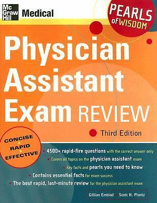 Physician Assistant Exam Review: Pearls of Wisdom, Third Edition, Plantz,Scott,