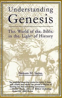 Understanding Genesis (The Heritage of Biblical Israel) by Nahum M. Sarna