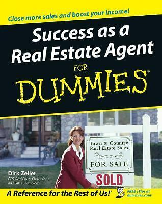 Success as a Real Estate Agent For Dummies by Zeller, Dirk