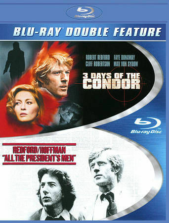 ALL THE PRESIDENTS MEN/ 3 DAYS OF THE CONDOR BLU RAY NEW  OPERATION GRATITUDE