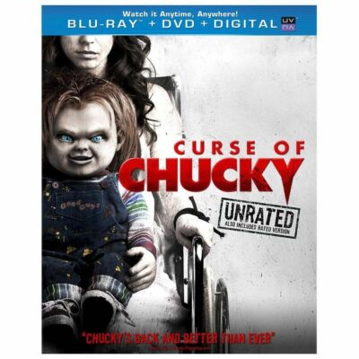 CURSE OF CHUCKY UNRATED DIGITAL COPY INCLUDED BLU RAY NEW OPERATION GRATITUDE
