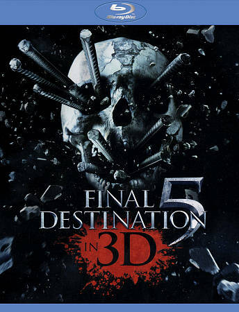 FINAL DESTINATION 5 3D  BLU RAY NEW SEALED OPERATION GRATITUDE