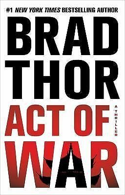 Act of War by Brad Thor (Kindle, Mobi, and PDF) E-books