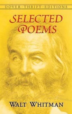 Selected Poems (Dover Thrift Editions) by Walt Whitman