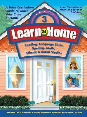 Learn at Home, Grade 3, American Education, Good Book