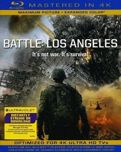 BATTLE: LOS ANGELES BLU RAY NEW SEALED OPERATION GRATITUDE