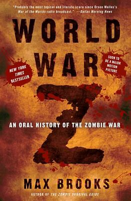 World War Z: An Oral History of the Zombie War, Max Brooks, Acceptable Book