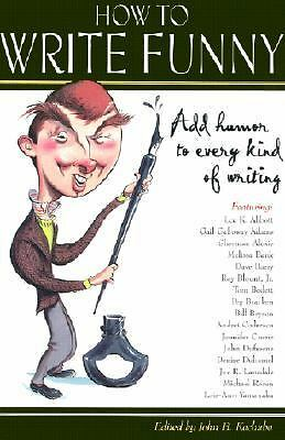 How to Write Funny, , Good Book