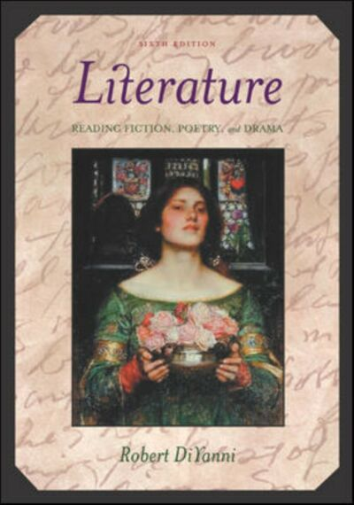 Literature: Reading Fiction, Poetry, and Drama, Robert DiYanni, Acceptable Book