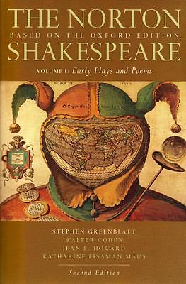 The Norton Shakespeare: Based on the Oxford Edition (Second  Edition)  (Vol. 1: