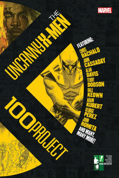 THE UNCANNY X-MEN 100 PROJECT HARDCOVER