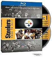 NFL PITTSBURGH STEELERS ROAD TO XLIII BLU RAY NEW SEALED OPERATION GRATITUDE