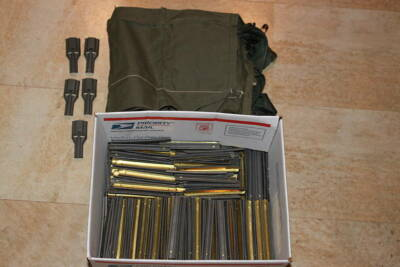 Military Suplus,400, 223 Stripper Clips with Masters
