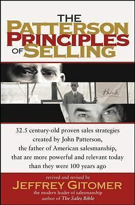 The Patterson Principles of Selling, Gitomer, Jeffrey, Good Book