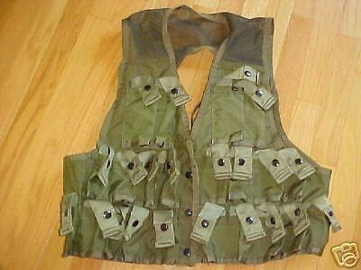 Military Surplus, Army, Ammunition Carrying Vest,, Medium