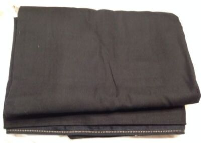 Black Full Size Futon Cover Mattress Furniture,Cotton & Polyester