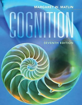 Cognition, Matlin, Margaret W., Acceptable Book