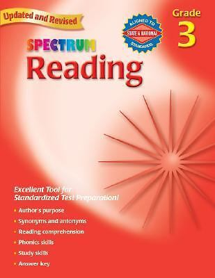 Reading, Grade 3 (Spectrum) by Spectrum