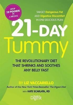 21-Day Tummy: The Revolutionary Diet that Soothes and Shrinks Any Belly Fast, Sc